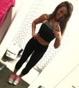CheeryandCharming_Black Spandex Work Out Crop Top Leggings Outfit